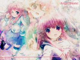 Angel Beats wallpaper by Prescilla25
