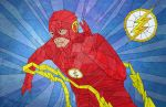 The Flash in Stained Glass by jmascia