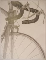 Father's Bicycle by SAMMYK1NS