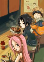 Fanart +Our Ramen Days+ by Aiori