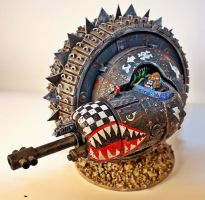 Ork Wheel-O-Doom by billking