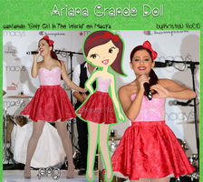 Ariana Grande Doll (cantando en Macy's) by RoohEditions