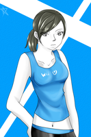 Wii fit trainer by U-Star-X