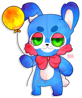 Five Nights at Freddy's 2 : Toy Bonnie by JessicaFreaxx