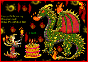 Dragon Birthday by Typhon--Monster-King