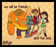 Breavest Warriors (Friends Until the End) Rys by ErikReys