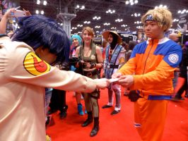 Happy Birthday, Naruto-kun!- NYCC 2014 by BloodKaika