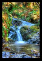 Waterfall HDR by Gilly71