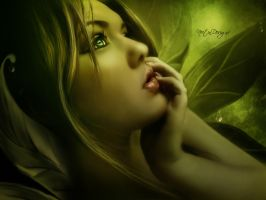 The Green Lady by Neitin