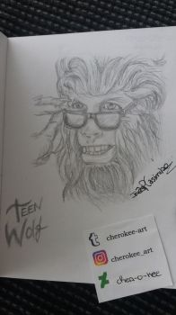 Teen Wolf (1985) by cher-o-kee