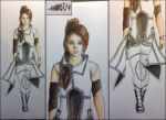 Character Design (University Application) by w0lfix