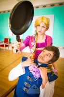 Disney Tangled Rapunzel Flynn Rider cosplay by chamellephoto