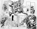 Cry For Justice 7 pages 16-17 by IbraimRoberson