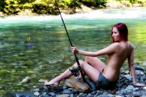 Fishing In The Rivers Of Life by TheUnknownPhotog