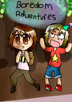 Boredom Adventures Cover by polka-dork
