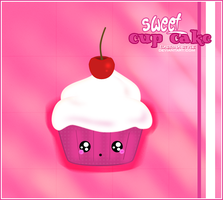 sweet cup cake by Sabrina-style