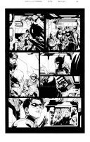BATMAN sequential sample inks over Greg Capullo by lebeau37