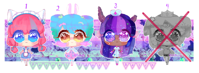 3/4 Open! // Paypal and Points!/Price lowered by Bibua