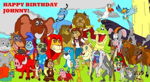 Happy Birthday Johnny (LionKingRulez) 2012 by kylgrv
