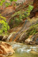 The Narrows, Zion National Park, Utah by Twoyutes