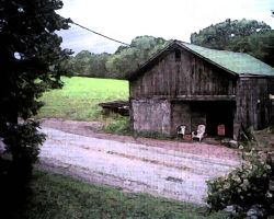 the barn across the way. by abumpinthenight