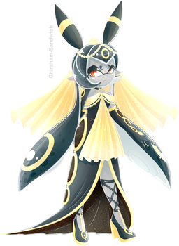 Umbreon Inkling by Ghiraham-Sandwich