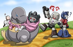 Nanny Grimlock 2nd shot by PrimaCat