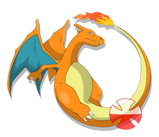 charizard pokemon by fer-gon