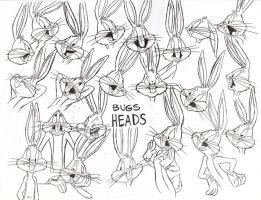 Bugs Bunny Model Sheet Ver. 8 by guibor