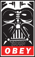 OBEY:VADER by goofoofighter