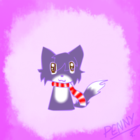 Penny The Cat Chibi by xXKathyKittyXx