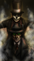 The Stranger and The Baron by Mafer