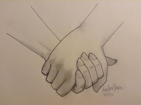 Holding Hands by bestsk8eva