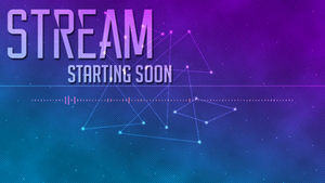 Stream Starting Soon Audio Visualizer Test by barcodeqt