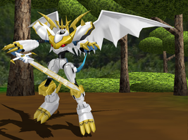 MMD NC - Imperialdramon Paladin Mode by Zeltrax987