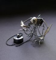Mechanical Clockwork Creature (Captive) by AMechanicalMind