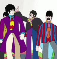 Yellow Submarine in 3D by whisper1236