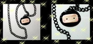 AUCTION CLOSED:Ninja Necklace by Crissey