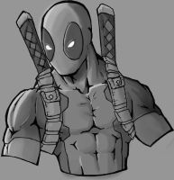 deadpool shade practice by kidro198