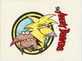 The Angry Beavers by iiRawrDinosaurii