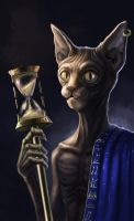 Sphynx the Time Guardian by Markdotea