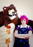 Annie and Tibbers by SweetCandyCupkake
