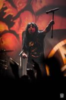 Joey Belladonna wants us to mosh by sylvaincollet