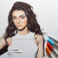 Lorde by samiahdagher
