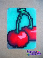 Cherries ATC by SerenaAzureth