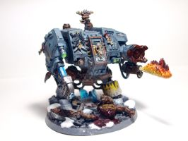 Space Wolves - Dreadnought by Ulricson