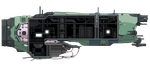 Soma Corvette (Starbound) by MShadowy