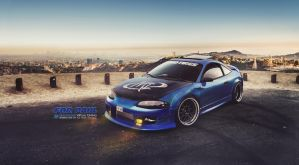 Mitsubishi Eclipse Tribute For Paul by brianspilner