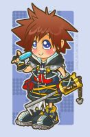 Kingdom Hearts - Sora by jiggly