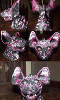 Hyena sculpture by MOKrubi